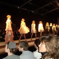 Dior's runway show