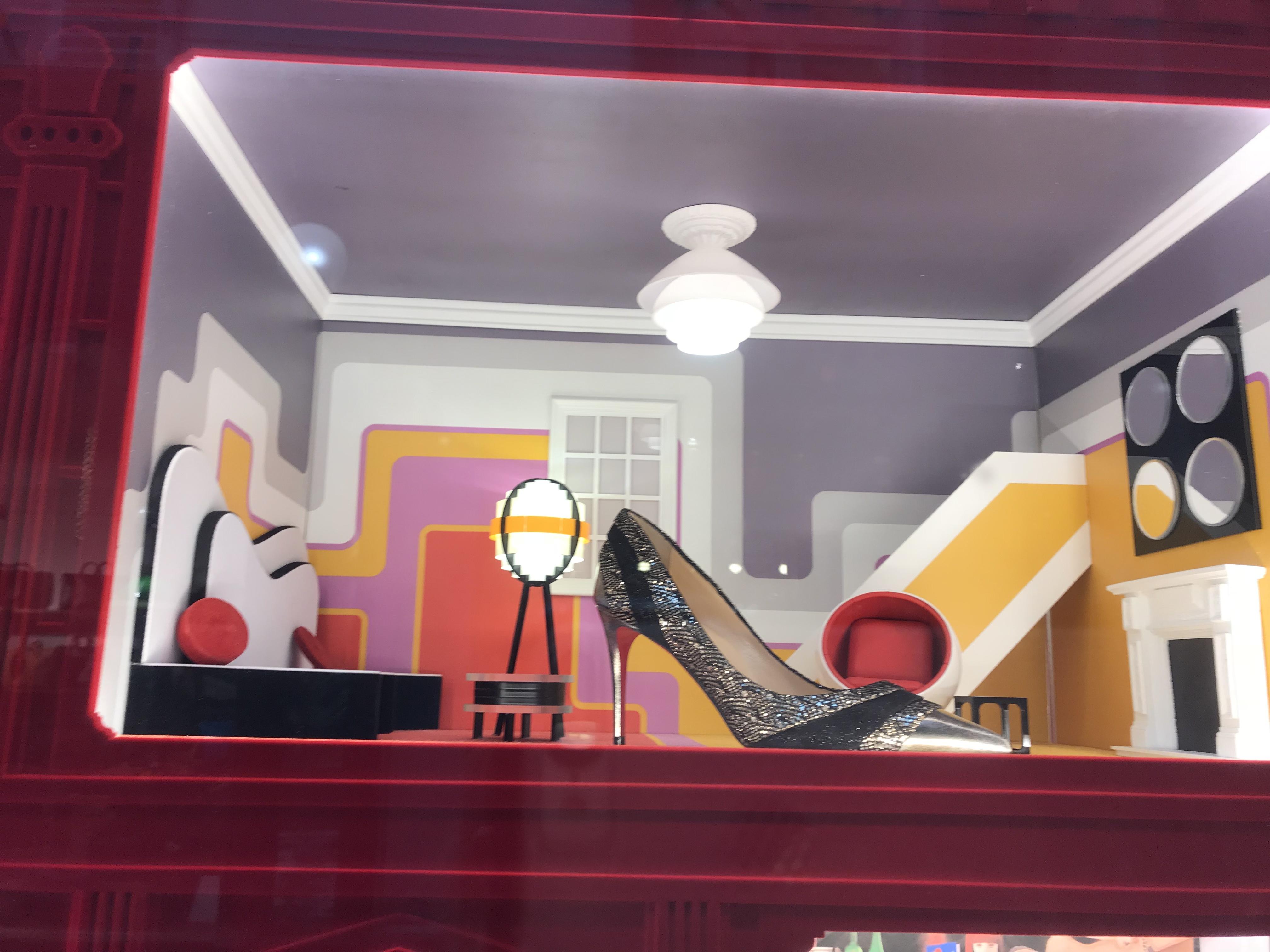 9a82cb37b7e A Dollhouse Display for Christian Louboutin | Rachel Kaplans ...